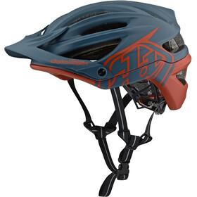 Troy Lee Designs A2 MIPS casco per bici marrone/blu